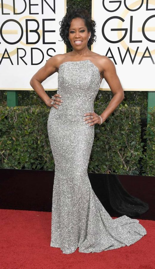 Regina King in Romona Keveza at the 2017 Golden Globes